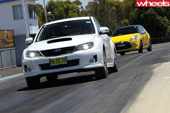 Subaru -WRX-vs -Citroen
