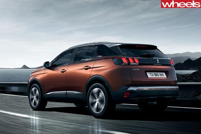Peugeot -3008-rear