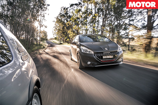 Peugeot 280 GTI 30th Anniversary driving