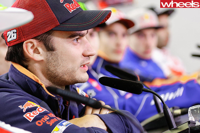 Jack -Miller -Moto GP-with -crew