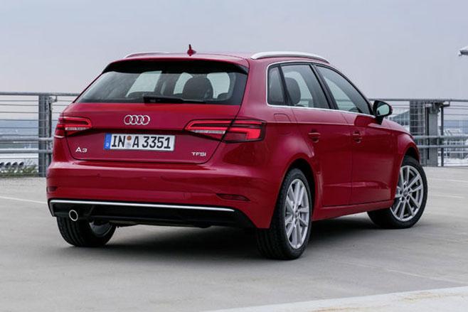 Audi A3 rear side
