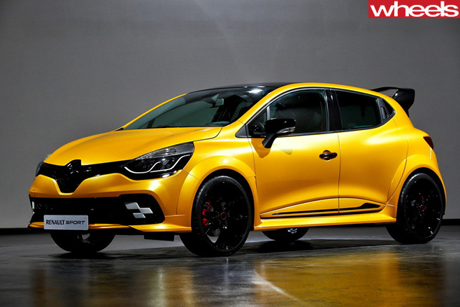 Renault Sport -Clio -RS16-front -side
