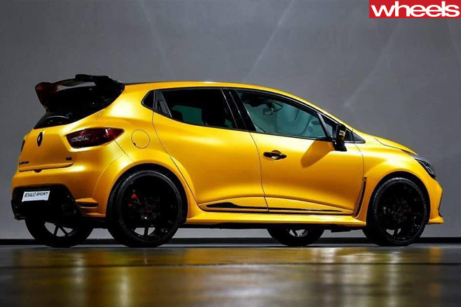 Renault Sport -Clio -RS16-rear -side