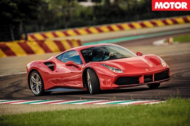 Ferrari slide-slip control