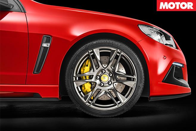 HSV Clubsport R8 Track Edition wheel