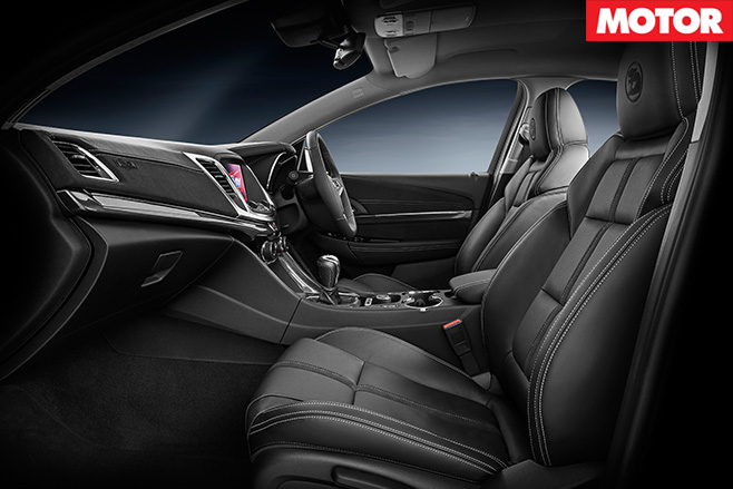 HSV Clubsport R8 SV Black interior