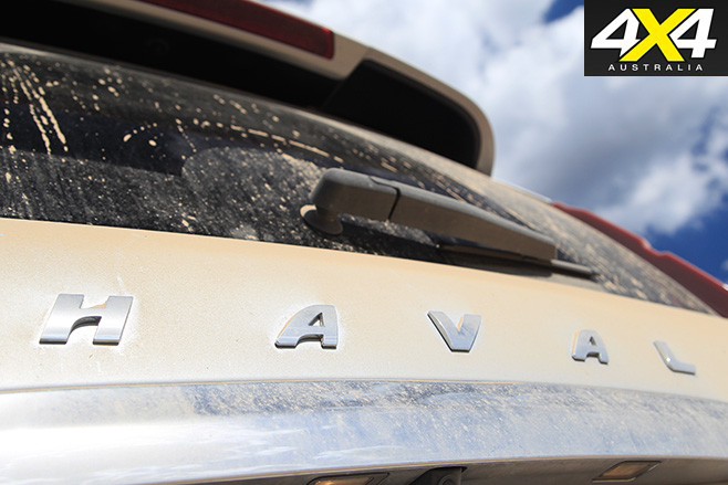 Haval H9 badge