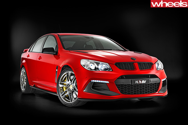 HSV-Track -Pack -edition -front -side