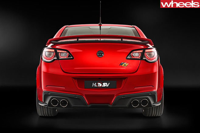 HSV-Track -Pack -edition -rear