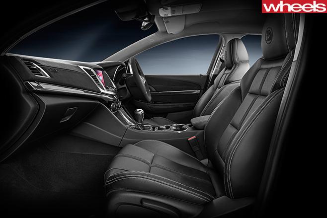 HSV-Track -Pack -interior