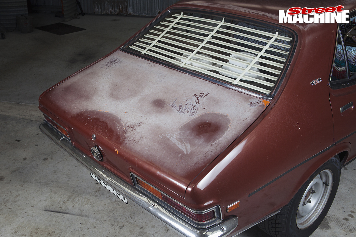 Holden -LC-Torana -SL-rear -boot