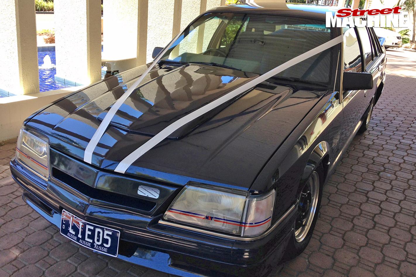 Holden -VK-wedding -car