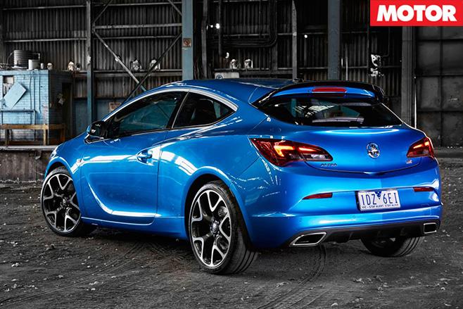 Holden Astra VXR rear