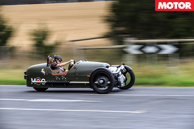 Driving the Morgan fast