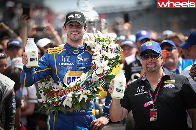 Indy 500-winner -Rossi