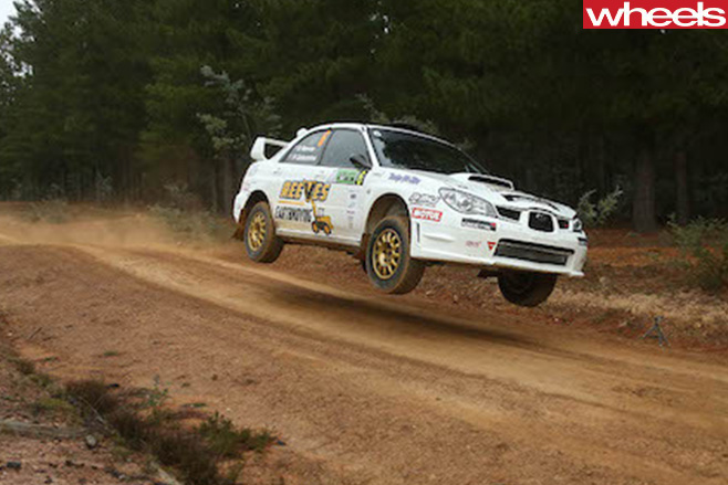 Reeves -racing -Subaru -WRX-Rally