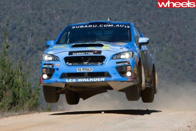 Molly -Taylor -racing -Subaru -WRX-Rally