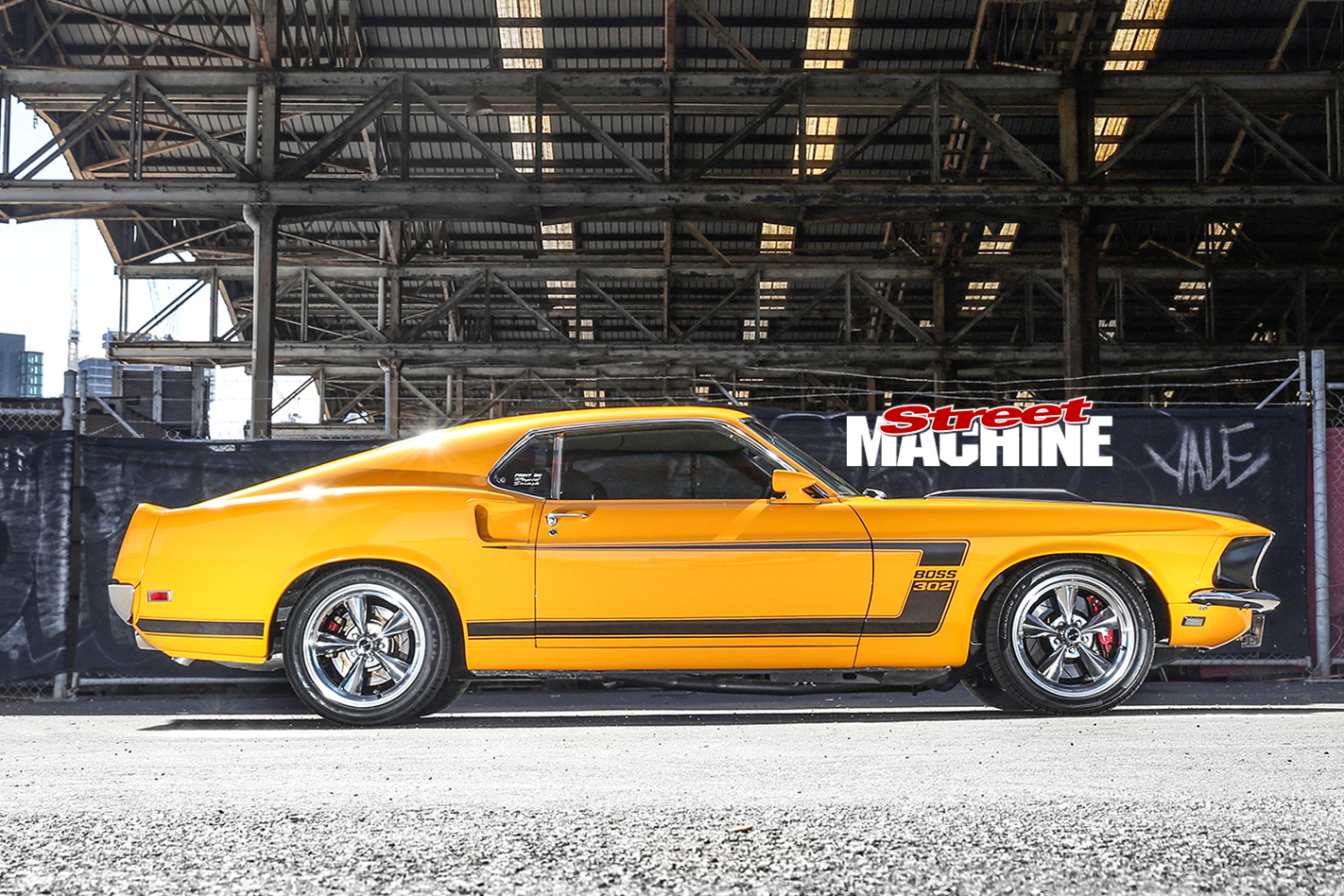 Restomod Pro Tourer 1969 Ford Mustang Boss 302 Fastback