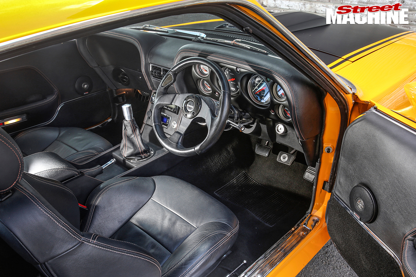 Ford -Mustang -BOSS-interior