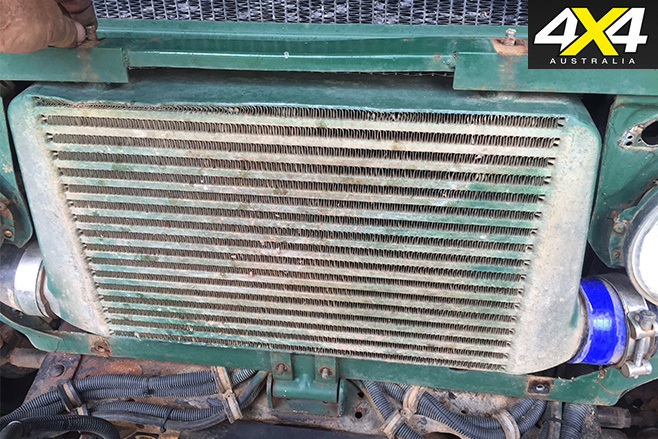 Milos front grill
