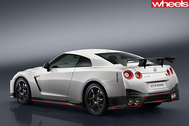Nissan -GT-R-Nismo -rear -side