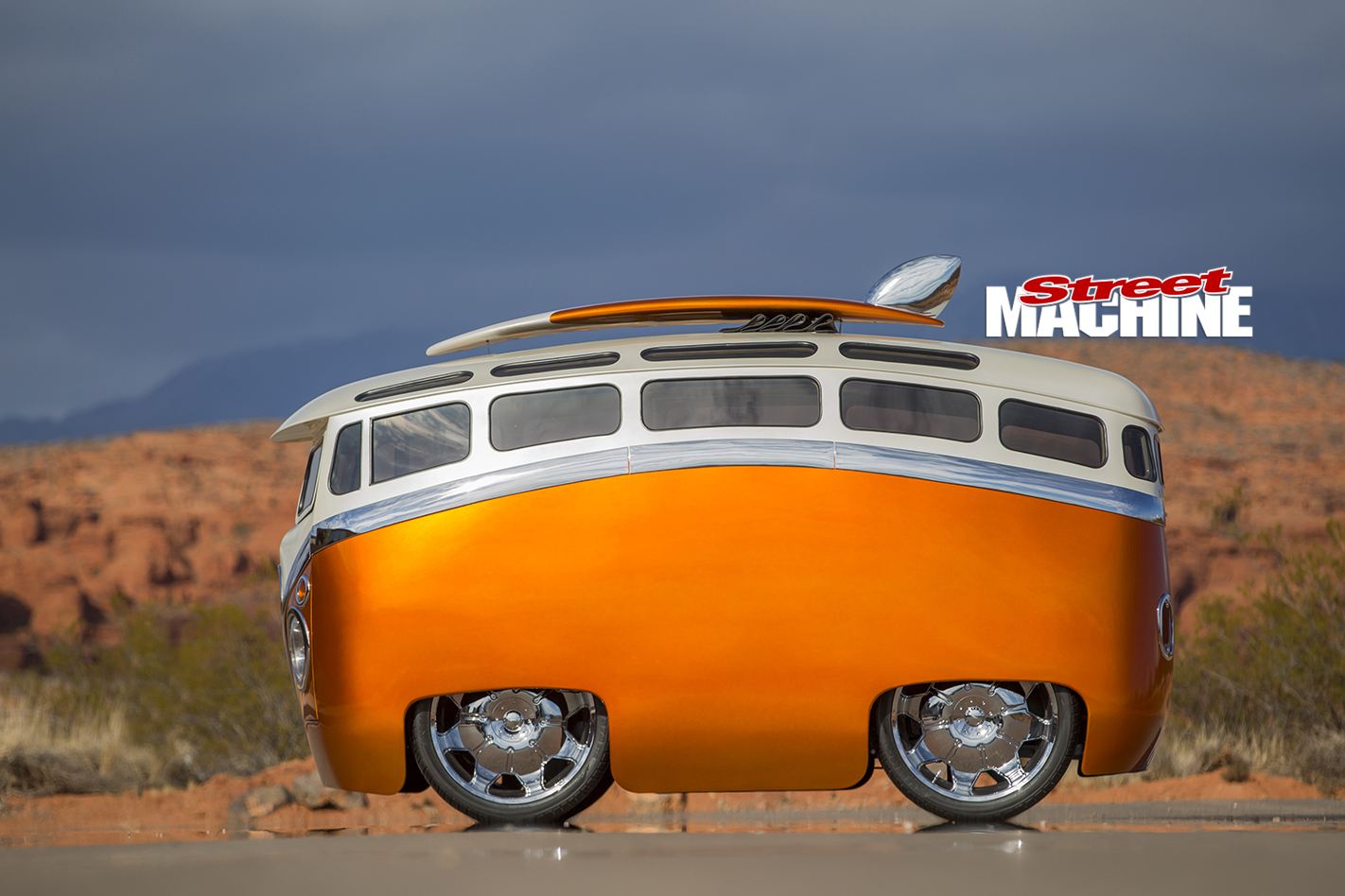 Ron Berry S Surf Seeker Custom Vw Kombi Bus Street Machine