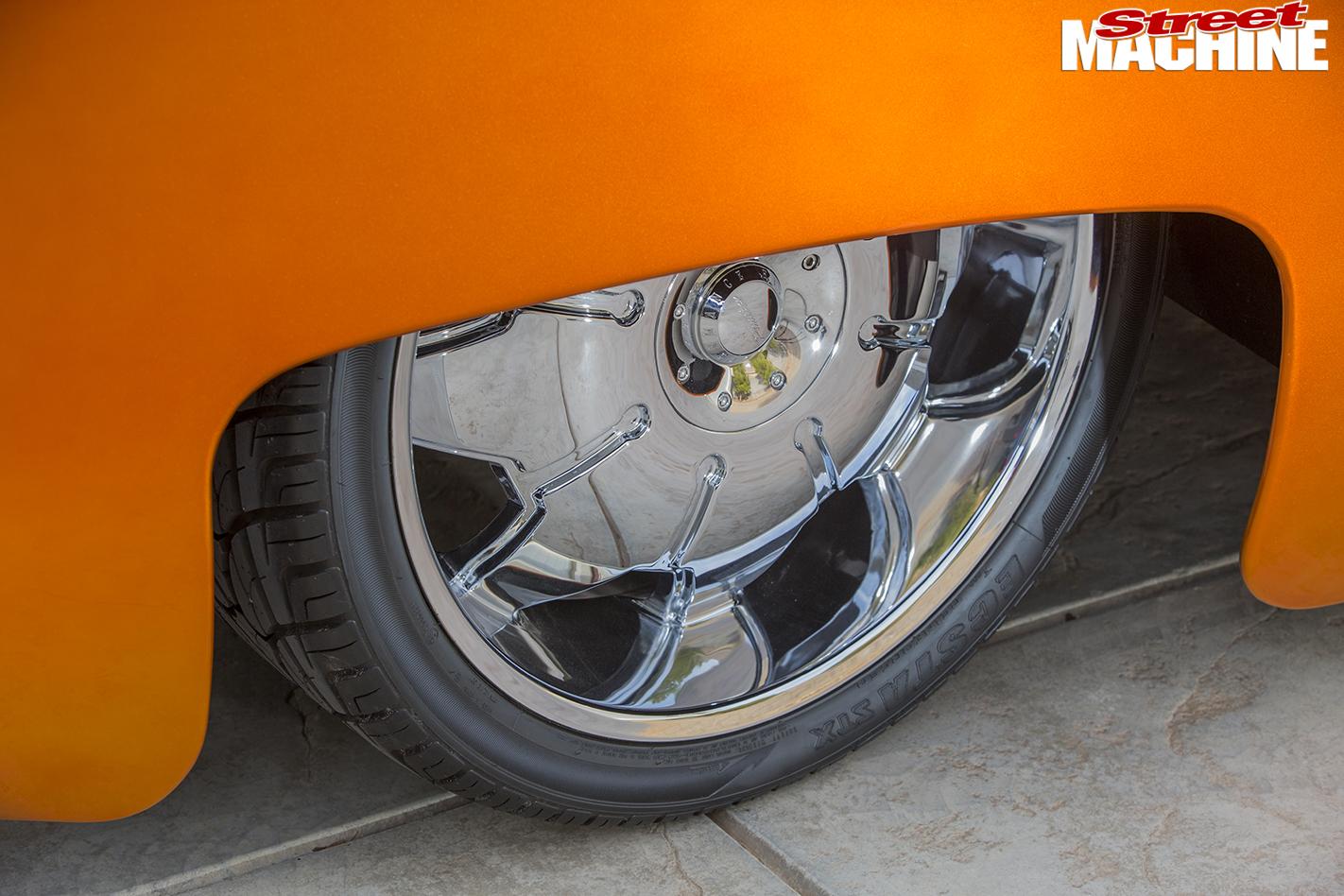 VW-Kombi -wheel