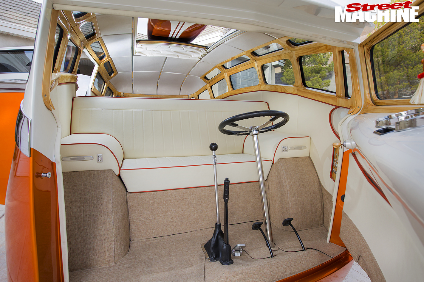 VW-Kombi -interior