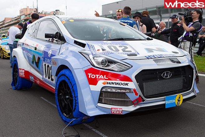 Hyundai -i 30n -racing -car