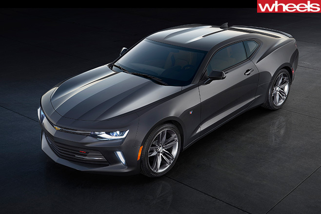 Chevrolet -Camaro -ZL1-grey
