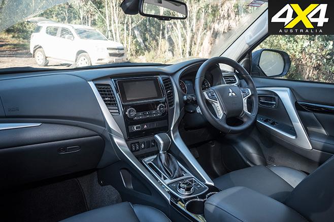 Mitsubishi Pajero Sport GLS interior