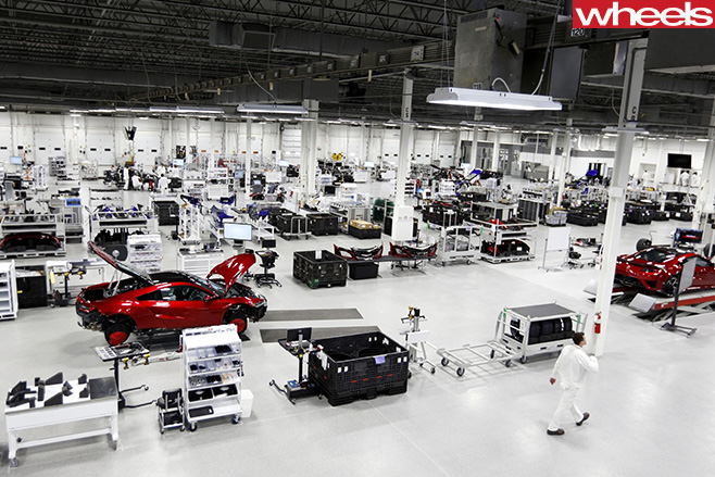 New -Honda -NSX-Factory -floor