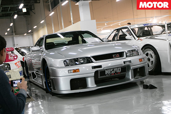 Nissan r33 gt rlm