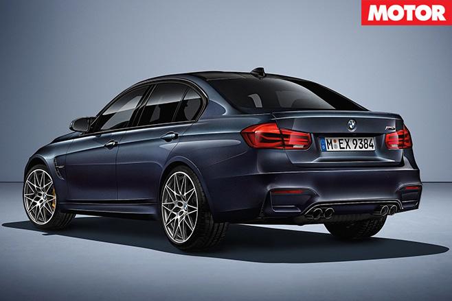 BMW M3 30 Jahre rear