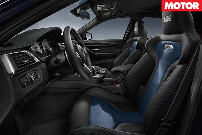 BMW M3 30 Jahre interior