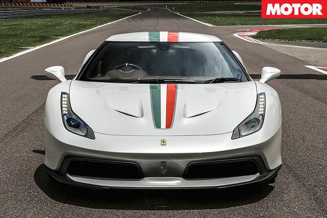 Ferrari 458 MM Speciale front