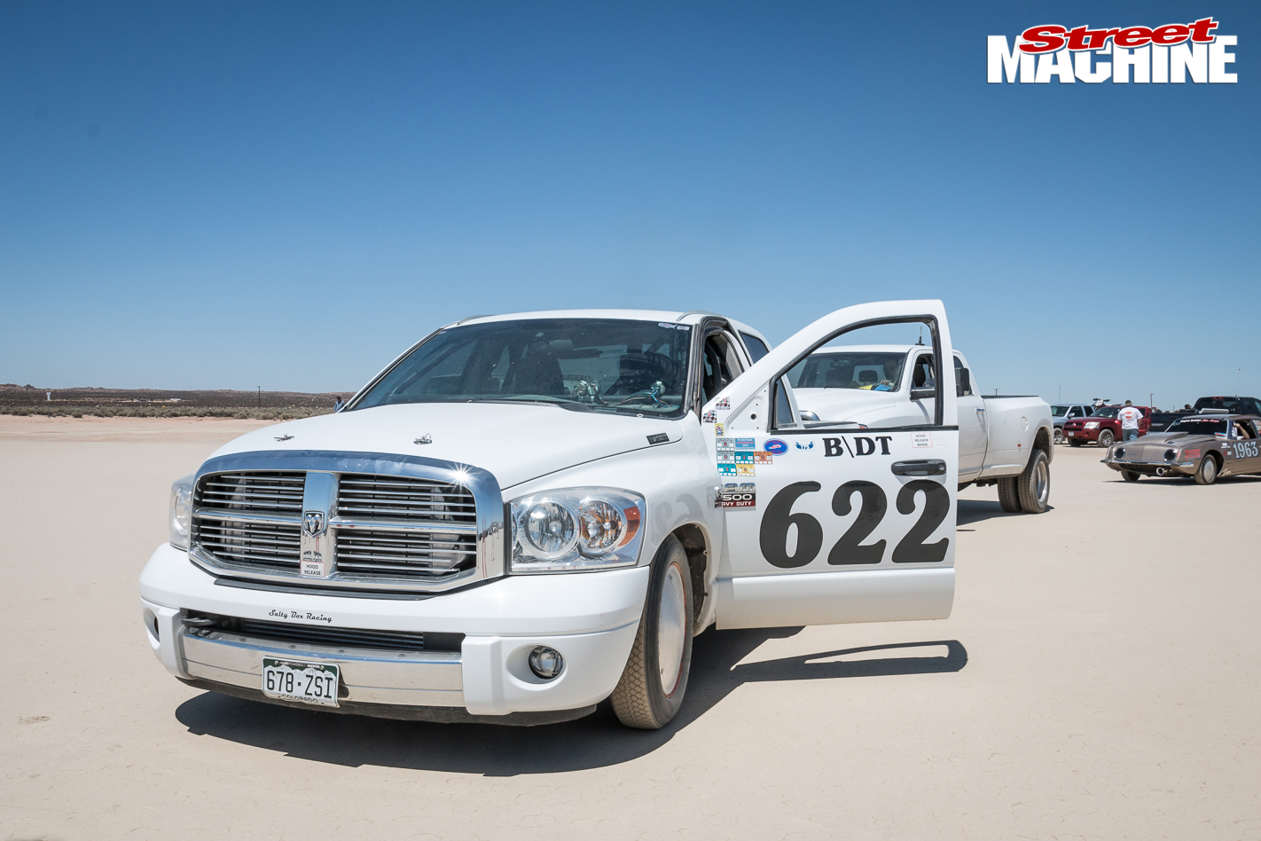 1115HP DODGE RAM PICK-UP SETS CL LAND SPEED RECORD AT EL MIRAGE