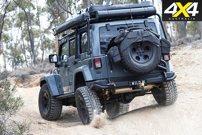 Jeep Wrangler Rubicon rear