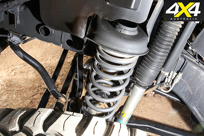 AEV suspension upgrade