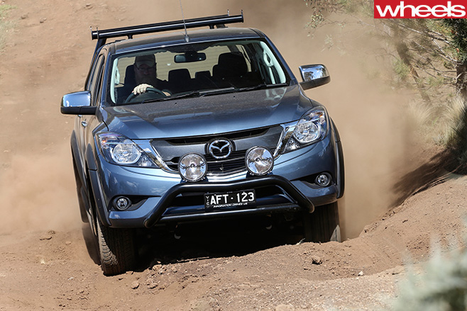 Mazda -BT-50-front -driving-