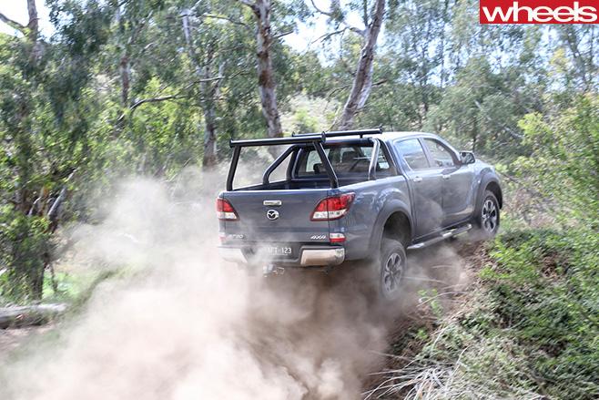 Mazda -BT-50-hill -climb