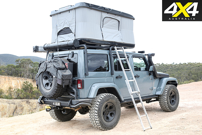 Pop up roof Jason reckons the Wrangler averages around 15.0L/100km on the highway with its 35-inch Pro Comp muddies on 17-inch AEV alloy wheels ...  sc 1 st  4X4 Australia & Custom 4x4: Jeep JK Wrangler Rubicon | 4X4 Australia