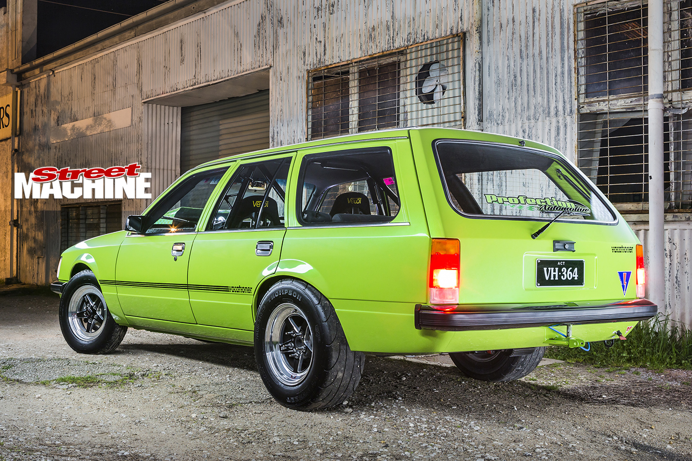 Holden -VH-Vacationer -Wagon -rear