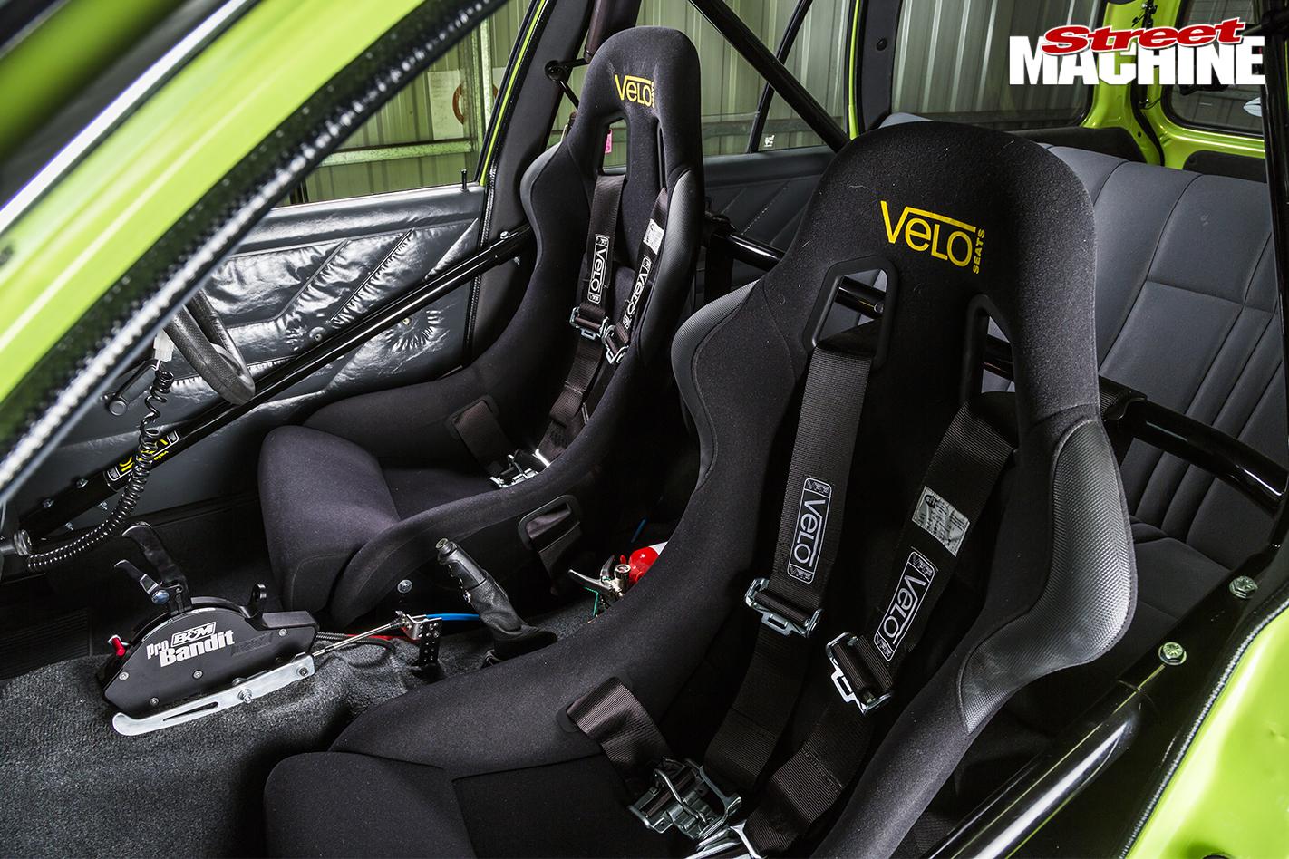 Holden -VH-Vacationer -Wagon -interior -race -seats