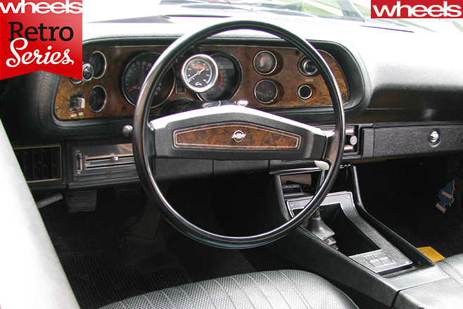 1970-Chevrolet -Camaro -interior