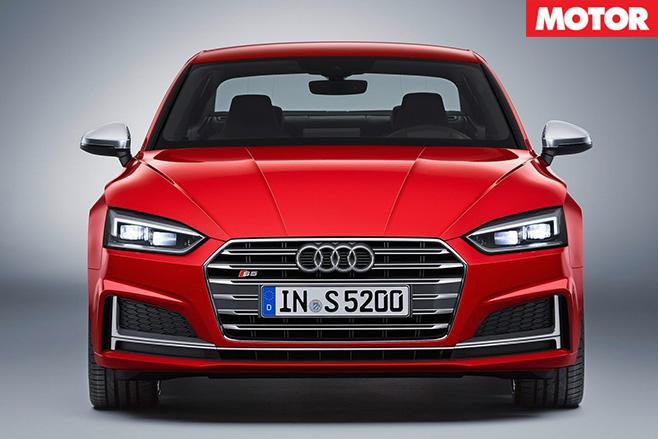 Audi s5 front