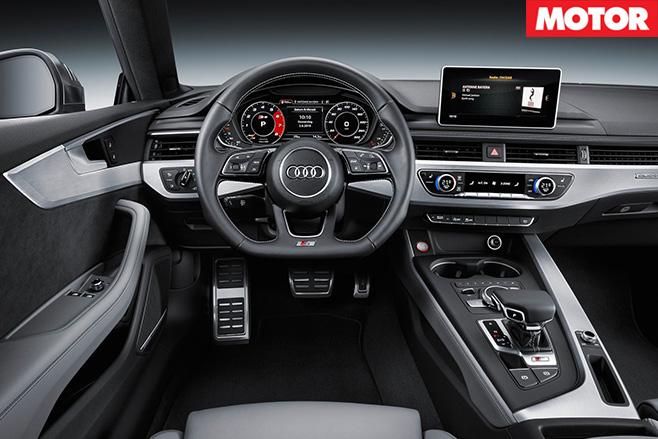Audi s5 cabin