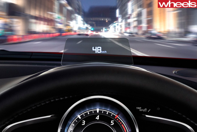 Mazda -CX-3-heads -up -display