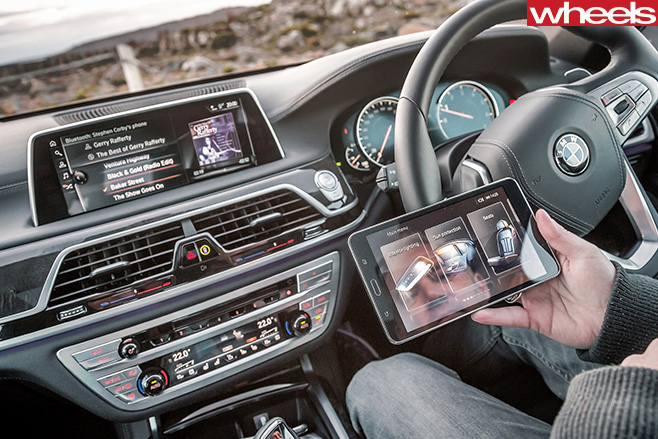 BMW-7-Series -Android -Tablet -App