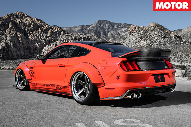 KAR Motorsport Ford Mustang rear